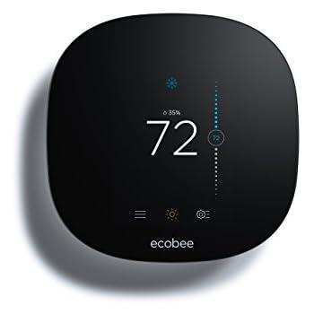 Ecobee3 Lite Thermostat, Wi-Fi, Works with Amazon Alexa