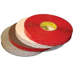 3/4''x36 yds 3M Black 45 mil 5952 VHB Tape with Red PE Film Liner