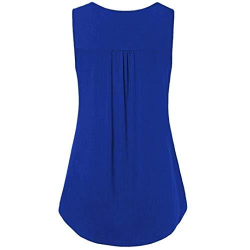 vert taille Zhrui manches été bleu courtes T shirt femmes longues pour couleur avec foncé très pour manches à froides blouses grande épaulettes rq7Har