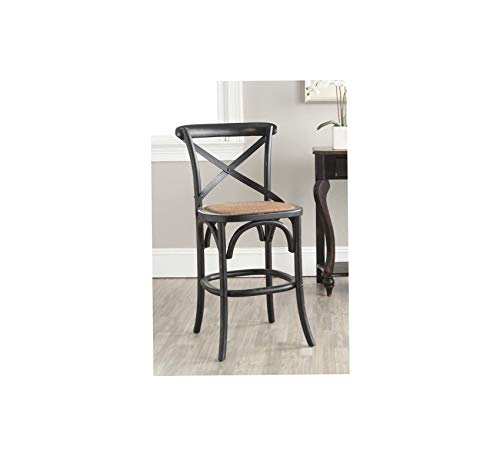 (Wood & Style Furniture Counter Stool, Brown Home Bar Pub Café Office Commercial)