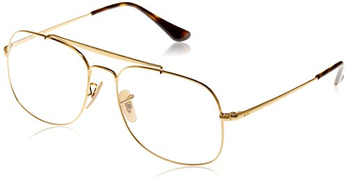Ray-Ban Unisex 0RX6389 57mm Gold - Sunglasses Ban Baby Ray