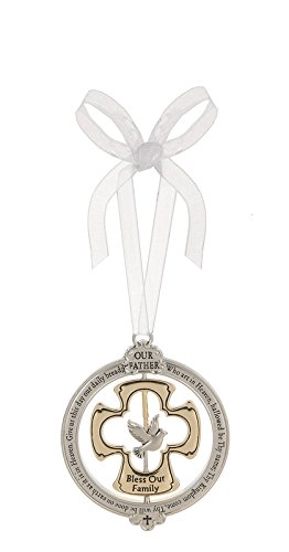 """Ganz 2.25"""" Zinc & Gold-Plated """"The Lord's Prayer"""" Engrave..."""