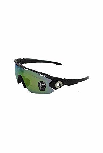 Lens de hombre para with sol In Frame Black Finecy Green Gafas Mirrored xPXqREwB
