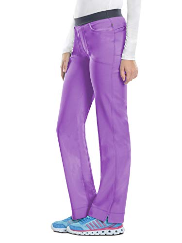 - Cherokee Infinity 1124A Low Rise Slim Pull-on Pant Wild Orchid M