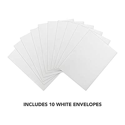 Shark Thank You Cards (10 Count) With Envelopes Bulk Birthday Party Bridal Blank Graduation Kids Children Boy Girl Baby Shower (10ct. Thank You): Toys & Games
