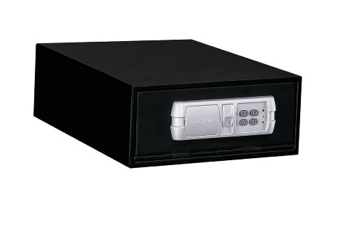 Under Cabinet Electronic - Stack-On QAS-1304-12 Low Profile Quick Access Safe with Electronic Lock