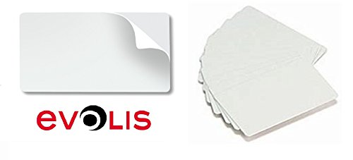 20 x Evolis Adhesive Cleaning Cards by PAC Supplies USA