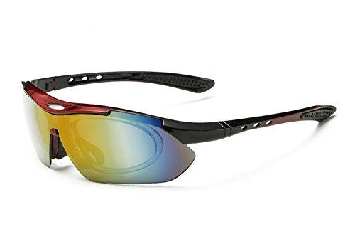 se deporte montar pueden 5 gafas polarizadas de de de sol Blanco cambiar UV para lentes Gafas evitar q7zgPw