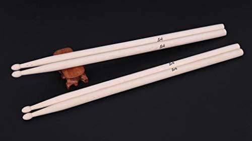 LongJoy - Baquetas de madera de arce con punta de madera, 2 pares ...