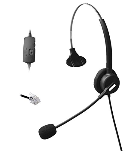 comdio-ch103va10-corded-call-center-headset-headphones-volume-mute-control-for-phone-nortel-networks