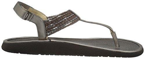 Jbu By Jambu Mujeres Yasmin Gladiator Sandal Metallic Combo