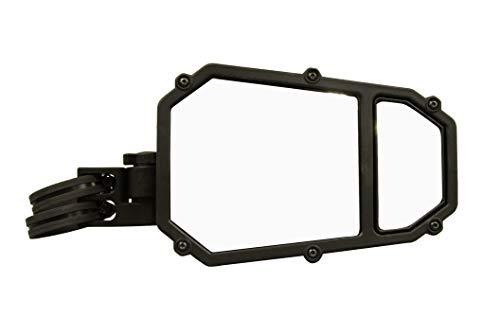 Mirror Deluxe Mount Door (ATV Tek UTVMIR-ES2 Elite UTV One Deluxe Stable Side Mirror with Dual Breakaway and Blindspot Mirror)