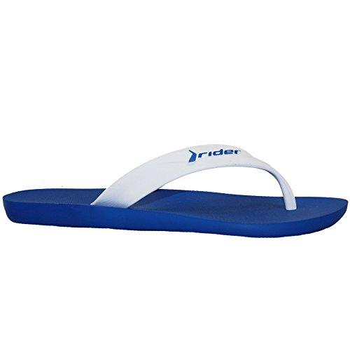 Schuhe SAPHIR Doppel Größen Bequem Sandalen BOUTIQUE Herren Zehentrenner Einfach Strand Riemen Blau 1v1qpwZrn