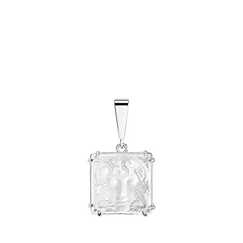 Lalique Crystal Arethuse Pendant Clear & Silver #10379400 (Lalique Clear Crystal)