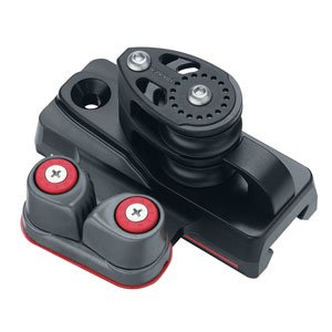 Harken 32 mm Big Boat 4:1 Double Sheave End Controls w/ Cam and Dead End (Pair)