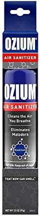 Ozium Air Sanitizer 3.5 oz Spray That New Car Smell (1)
