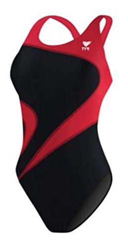 TYR Adult Alliance T-Splice Maxback Swimsuit, 36, ()