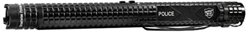 Streetwise Security Products Police Force 10,000,000-volt Tactical Stun Baton Flashlight