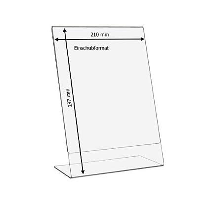 10 pieza DIN A4 L Soporte de/expositor/ - Expositor ...