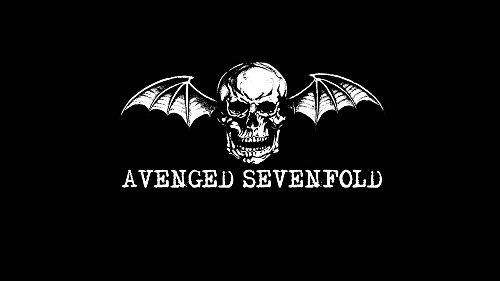 Innerwallz Skulls Avenged Sevenfold Wings Music Wall Art, Pop Art, Poster, Art Prints | Rare - Wings Avenged Sevenfold
