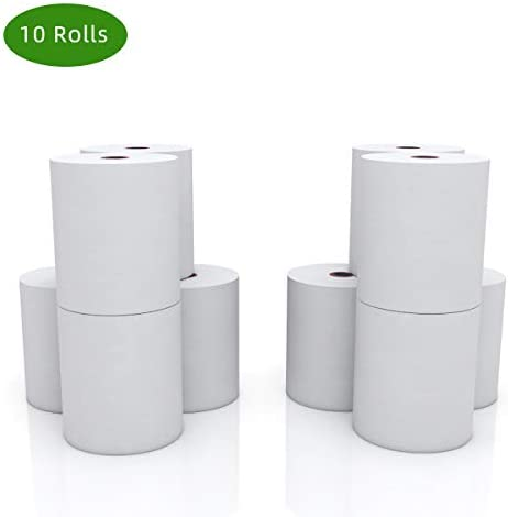 Thermal paper rolls 3-1/8 x 230 credit card paper for POS Receipt Paper (10 Rolls)-Thermal-paper-rolls