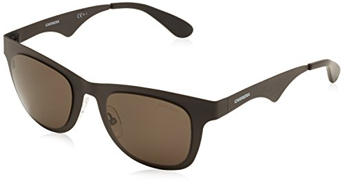 Carrera 003NR Matte Black 6000MT Wayfarer Sunglasses Lens Category - Carrera 22 Sunglasses