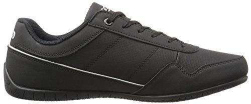 Levis Mens Rio Nubuck Fashion Sneaker Zwart / Wit