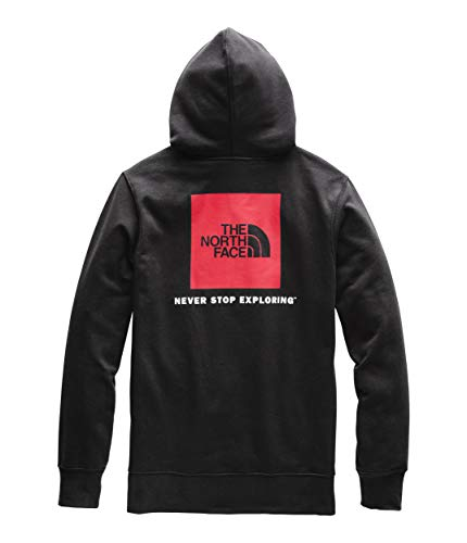 The North Face Men's Red Box Pullover Hoodie, TNF Black/TNF Red, Size XL