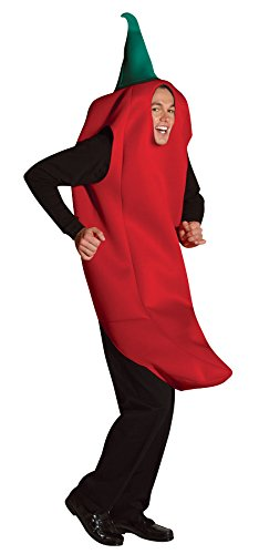Rasta Imposta Chili Pepper Costume, Red, One Size