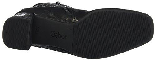 10 Gabor Schwarz Basic Stiefel Damen Schwarz Anthrazit SxW1qZIHBw