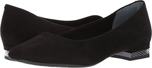 J. Renee Women's Eleadora Black Suede Pump