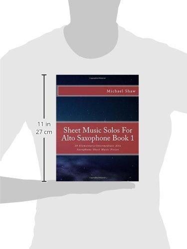 Amazon Sheet Music Solos For Alto Saxophone Book 1 20