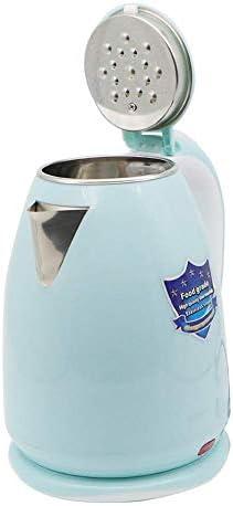 ZJZ Bouilloire électrique, théière de Chauffe-Eau à ébullition Rapide, Bouilloire de café de chaudière à Eau en Acier Inoxydable de 2 litres avec 2200W