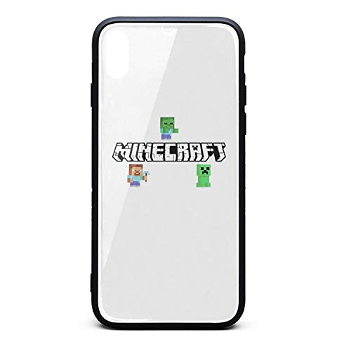 iPhone X/XS Game Character TPU Soft Rubber Case with Hard PC Back Shell Shock Absorption Bumper Cover Glossy