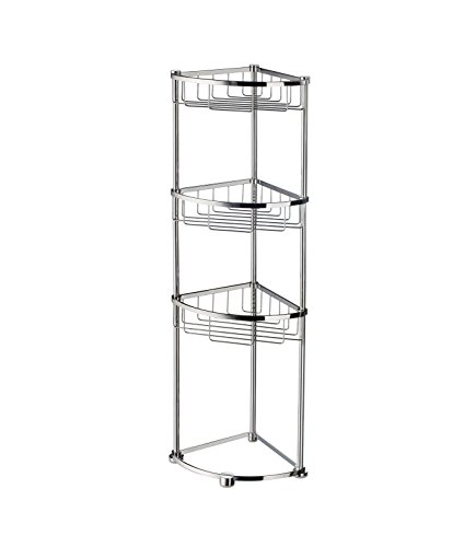 - Smedbo SME DK2051 Soap Basket Free Standing, Polished Chrome,