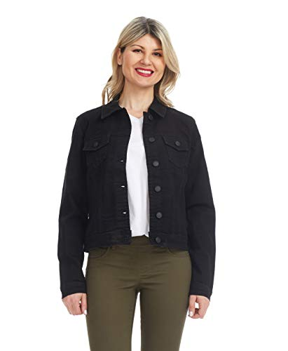 Suko Jeans Women's Trucker Jacket - Stretch Denim