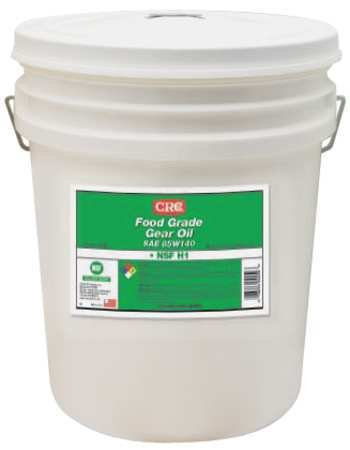 CRC Food Grade Gear Oil, 15 to 375 Degrees Temperature, 5 Gallon (Crc Kosher)