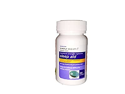 Simply Right Sleep-Aid 50mg 96ct (Single Pack)