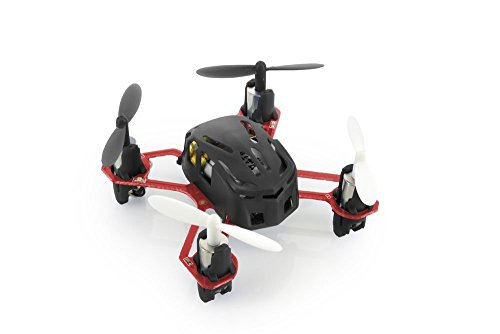 HUBSAN H111 Nano Q4 4-Channel 6 Axis Gyro Mini RC Quadcopter with 2.4Ghz Radio System Mode 2 RTF- Carton Case...