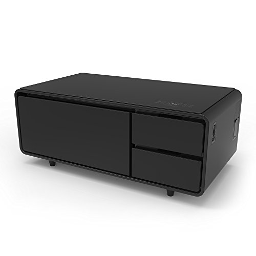 Sobro Smart Coffee Table With Fridge Usb And Speakers