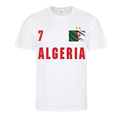 special sales various colors new appearance Awdis Maillot - Tee Shirt de Foot Algerie 2 étoiles Enfant ...