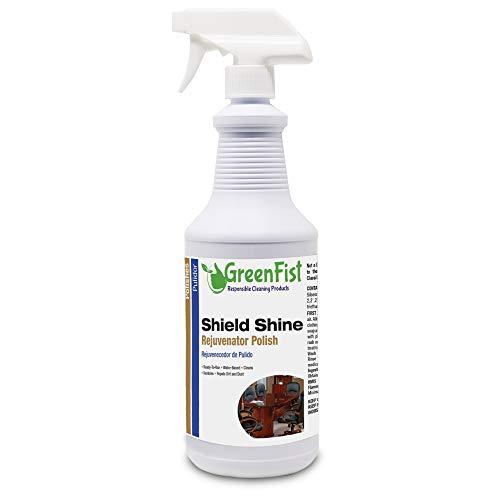 Shield Shine Rejuvenator Multipurpose Polisher & Sealer [ Vinly,Leather,Plastic,Rubber,Wood,Metal,Chrome,Fiber Glass and Others],32 Fluid Ounce Spray (Best Emulsion Paint Sprayer)