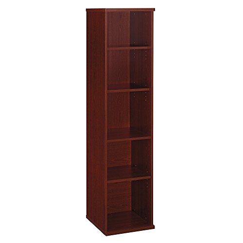 - Bush Business Furniture Series C Collection 18W 5 Shelf Bookcase in Mahogany