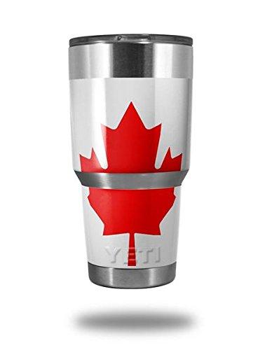 22db26d27e0 Amazon.com | Skin Decal Wrap for Yeti Tumbler Rambler 30 oz Canadian ...