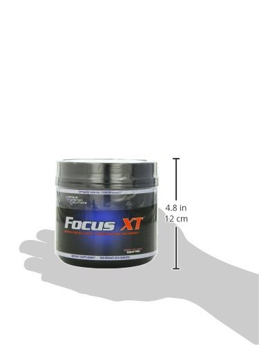 Serious Nutrition Solution Focus XT, Berry Collision 12.5oz