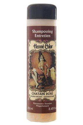 Golden Brown Henne Natural Henna Hair Shampoo