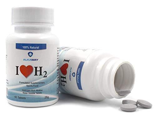 AlkaWay Molecular Hydrogen Tablets Drinking product image