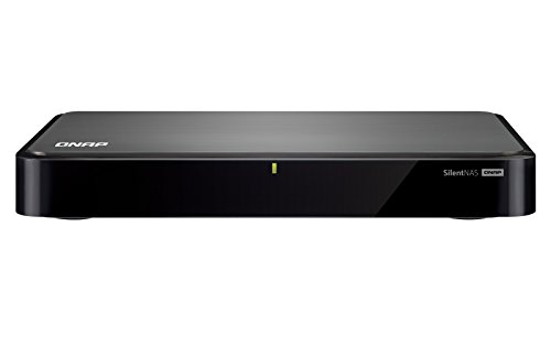 QNAP HS-251 2-Bay Fanless Personal Cloud NAS, Intel 2.41GHz Dual Core CPU with Media Transcoding, PLEX and DLNA Support
