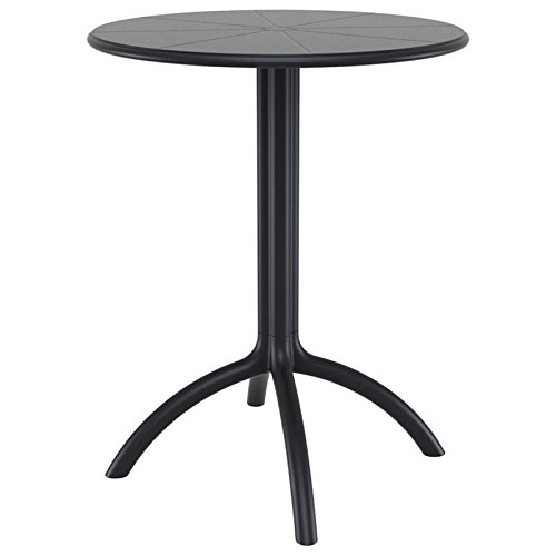 Compamia Octopus Round Bistro Table in Black by Compamia