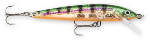 Rapala Husky Jerk 06 Fishing lure, 2.5-Inch, Glass Perch